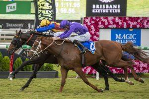 Caulfield Guineas Favourite Prince Fawaz Going Great