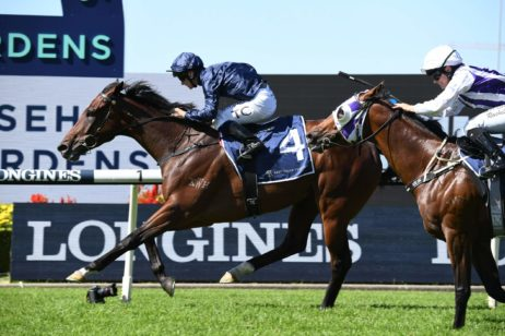 Australian Derby Odds Firm on 2021 Tulloch Stakes Winner Yaletown
