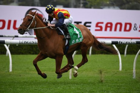 Nature Strip Wins 2021 Concorde Stakes Ahead of Third The Everest Tilt
