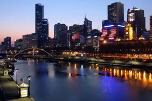 Melbourne CBD at Night