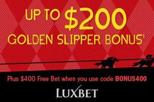 $200 Golden Slipper Bonus Bet