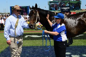 Black Caviar, Peter Moody & Donna Fisher