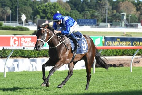 Adaptable Winx Wins George Ryder Stakes 2018 in Wet