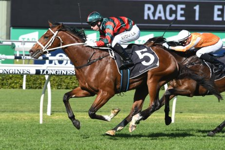2018 Tramway Stakes – Comin' Through Wins First Up