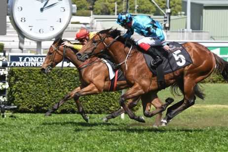 No Doubt About It: Dubious Wins 2018 Breeders' Plate