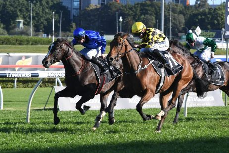 Maid of Heaven Claims Upset in 2018 Spring Champion Stakes
