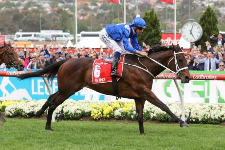 Winx on Track for Tuesday Week Trial