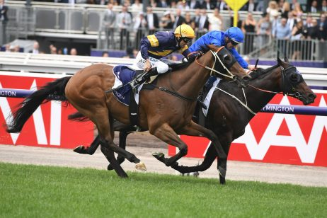 Keys is banking on Syd's Coin getting amongst the money in 2018 Sandown Guineas