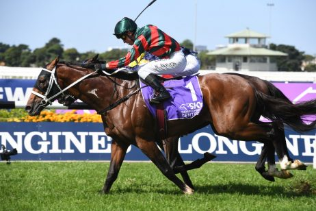 The Autumn Sun Wins 2019 Rosehill Guineas on Wet Track