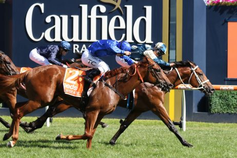 2021 CS Hayes Winner Tagaloa Firms in Australian Guineas Betting