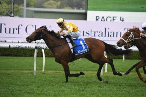 Dame Giselle to take off in Flight Stakes after Tea Rose Stakes win